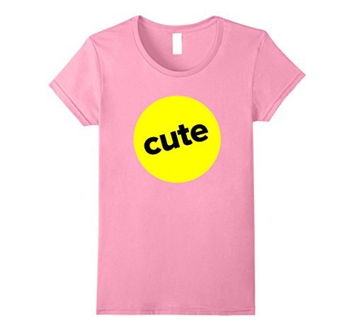 Teenage Halloween Ideas (Womens Funny Texting-Lingo Cute Halloween Group Costume T-shirt XL Pink)