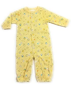 Baby Boy's Duck Print Convertible 1 Piece Romper/ Sack (Newborn)