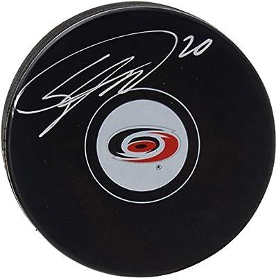 f2ec240a4 Sebastian Aho Carolina Hurricanes Autographed Hockey Puck - Fanatics  Authentic Certified - Autographed NHL Pucks