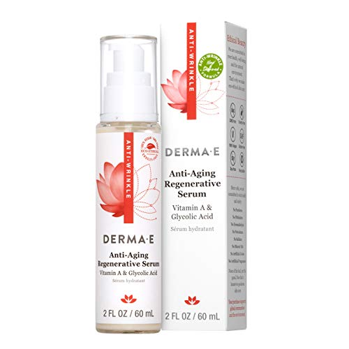 DERMA E Anti-Wrinkle Night Serum with Vitamin A and Vitamin E 2oz (Derma E Vitamin A And E Oil)