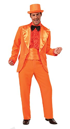 [F74243 (Standard) Forum Adult Orange Prom Tuxedo] (Adult Orange Tuxedo Costumes)