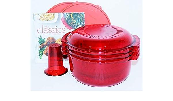 Tupperware Microondas pila cocina 7 piezas conjunto de utensilios ...