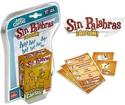 Goliath - Sin Palabras ¡Acción!, Juego de Cartas (70686): Amazon.es: Juguetes y juegos
