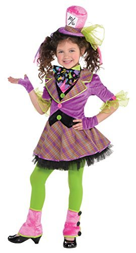 (Amscan Girls Mad Hatter Costume - Small)