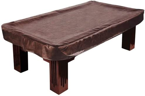 Felson Billiard Supplies 9 Foot Pool Table Cover, Fitted Brown Heavy  Leatherette U2013 Rip Resistant, Durable Dust U0026 Damage Protection   Billiard  Table ...