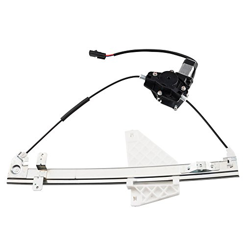 Replacement Window Jeep - Rear Left Side Power Window Motor and Regulator Assembly Replacement for 2001 2002 2003 2004 Jeep Grand Cherokee
