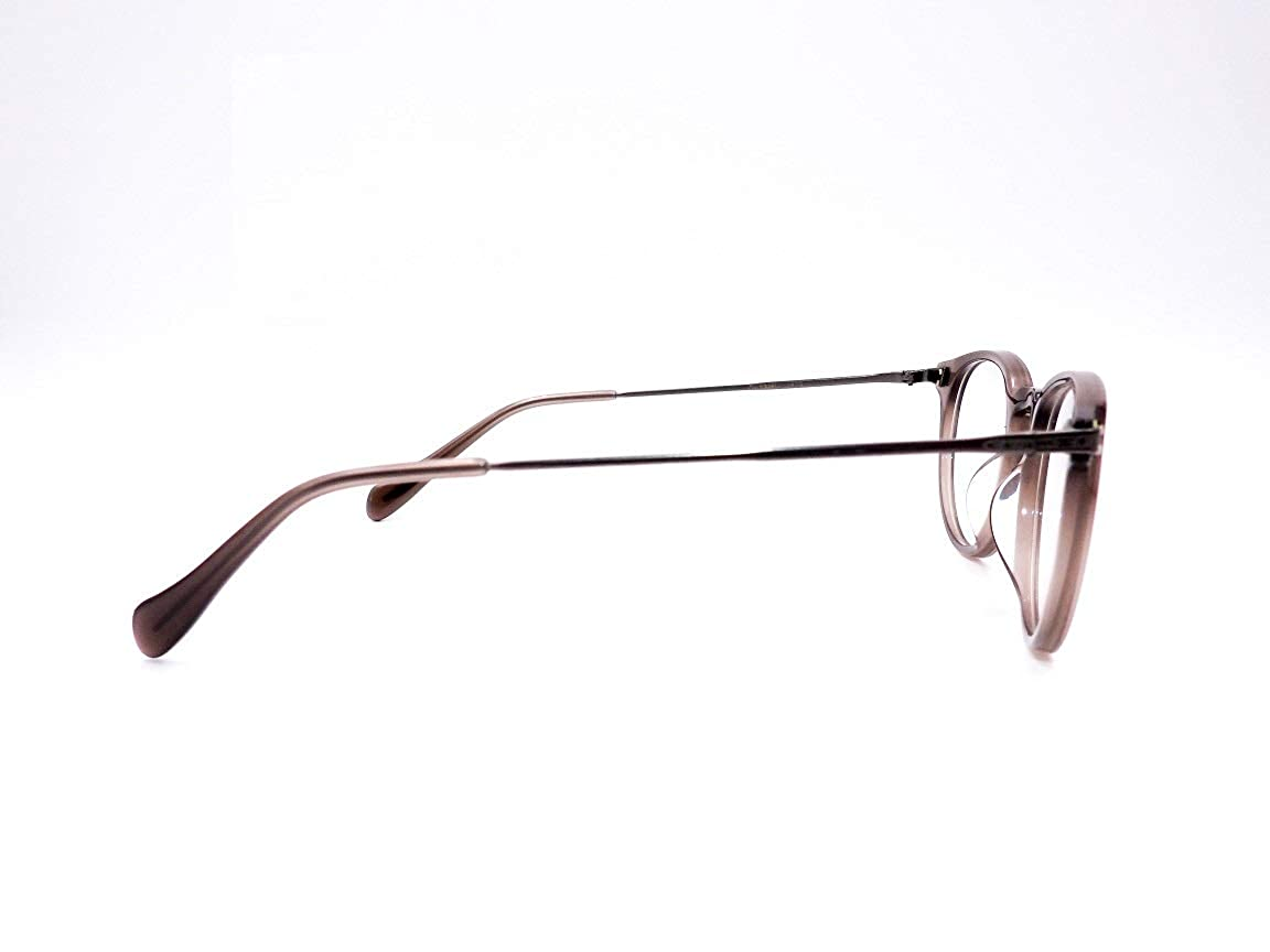 7d98113b8e4 Amazon.com  Oliver Peoples Lummis OV5326U-1473 Eyeglass Frame Translucent  Brown Gradient 47mm  Clothing
