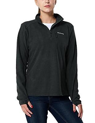 Baleaf Women's Outdoor Half Zip Fleece Jacket
