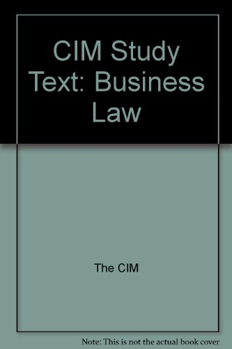 Cim Study Text  Business Law