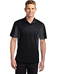 Side Blocked Micropique Sport-Wick Polo. ST655