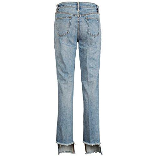 Tory Burch Originali Nuovi Blu Gamba Jeans Dritta Donna zqBFZaz