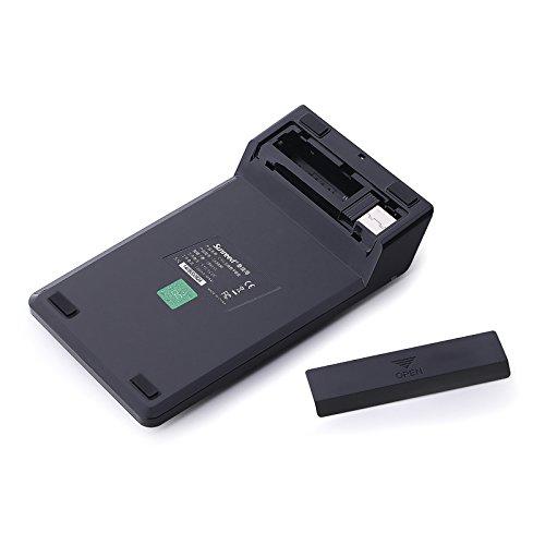 Sunreed,2-IN-1 (Upgrade Version) Wireless Numeric Keypad &Optical Mouse Combos 2.4G Mini USB 19 Keys Pad Numeric Keypad for Laptop Desktop PC Notebook (Black) by Sunreed (Image #5)