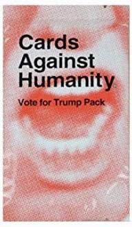 Tarjetas Against & Humanity Pack de expansión, Vote For Trump Pack: Amazon.es: Deportes y aire libre