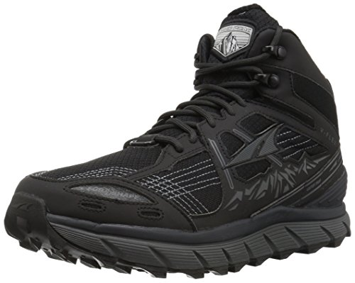 Cheap Altra Lone Peak 3.5 Mid Mesh Men's Trail Running Shoe, Black, 11.5