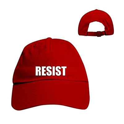 Make Hat Resist Embroidered Anti Protest Resist Trump Dad Hat Slide Buckle