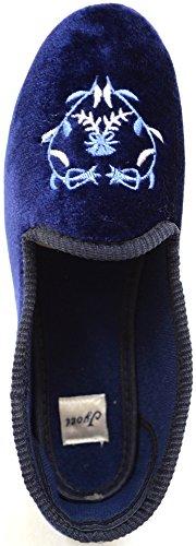 Absolute Footwear - Zapatillas de estar por casa para mujer azul marino