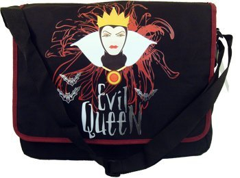Disney Evil Queen Canvas Printed Messenger Bag