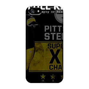 First-class Cases Covers For Iphone 5/5s Dual Protection Covers Pittsburgh Steelers