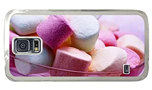 Hipster Samsung Galaxy S5 Case cassette Colored Marshmallows PC Transparent for Samsung S5 by supermalls