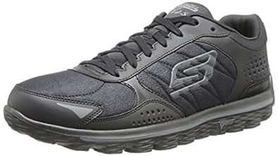 Skechers Performance Men's Go Walk 2 Flash Lace-Up Walking Shoe,Black,7 M US