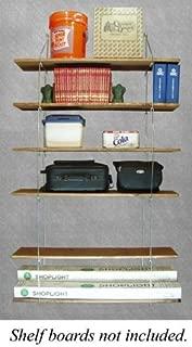 "product image for Quick - Shelf Hangers Six Shelf 12"" Deep Wall Mount Shelving Unit"