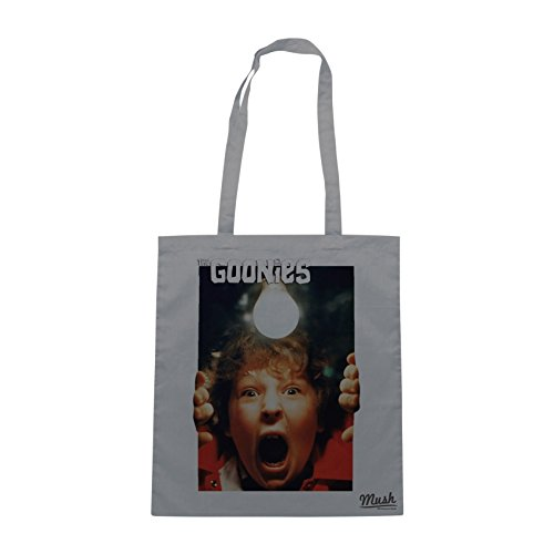 Borsa THE GOONIES - CHUNK URLO - Grigio - FILM by Mush Dress Your Style