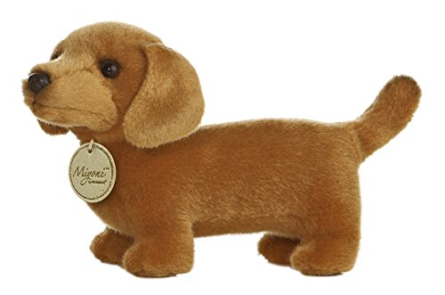 Miniature Animal Plush (Aurora World Miyoni Dachshund Plush, 8