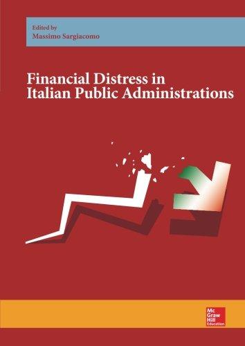FINANCIAL DISTRESS IN ITALIAN PUBLIC ADMINISTRATIONS