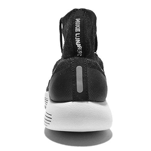 de volt Chaussures Blanco Femme Entrainement Flyknit WMNS Blanc NIKE anthracite Black Running Cassé Lunarepic White wAWqIcp6