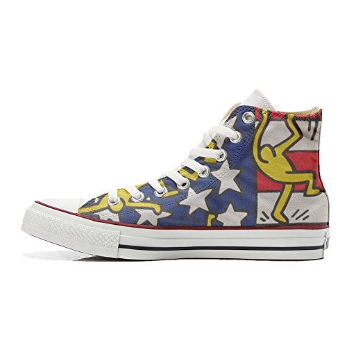 mixte artisanal Converse produit All danze Star coutume chaussures adulte Usa bandiera qIBa7I