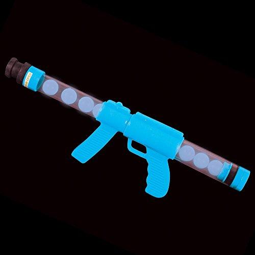 19'' Glow In The Dark Moon Blaster Gun, Blue, 1 (Halloween Air Blaster)