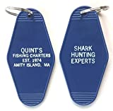 Quint's Fishing Charters Key Tag Inspired by the