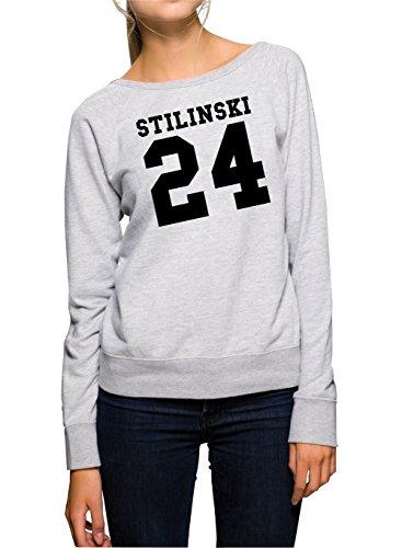 Stilinski 24 Felpa Girls Grigio