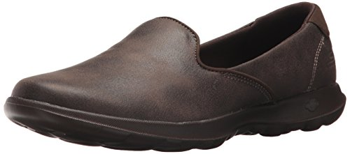 Skechers Performance Women's Go Walk Lite-Queenly Loafer,Chocolate,7.5 M US