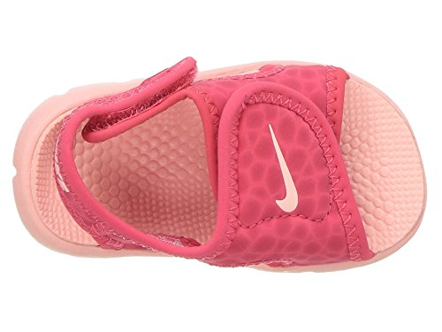NIKE Sunray Adjust 4 (TD) Baby-Boys Slippers 386521-608_6C - Tropical Pink/Bleached Coral - Image 8