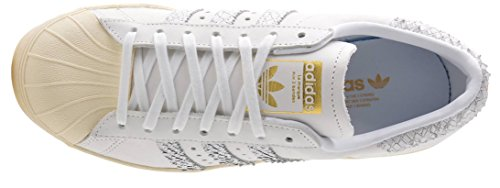 Reptile Superstar Adidas Trainers cream Leather White Womens Off 80s XxPax1w
