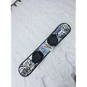 FreeRide 110 Beginner Level 2 Snowboard 1069T Fit for Rider up to 95lbs by Emsco