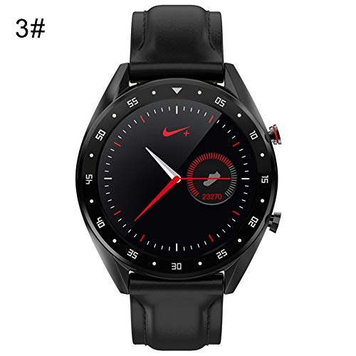 NarutoSak Microwear L7 Waterproof Heart Rate Blood Pressure Monitor Bluetooth Smart Watch 3#