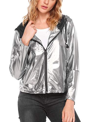 clubwear sequin baseball lightweight hoodie
