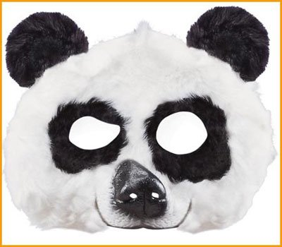 Kung  (Plush Kung Fu Panda Mask)