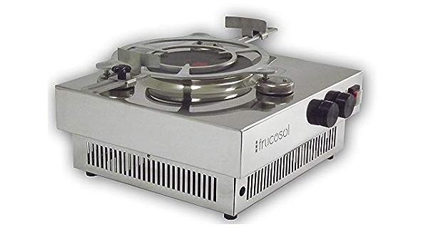 Plancha de cocina eléctrica 1200 W con oscilación automática ...