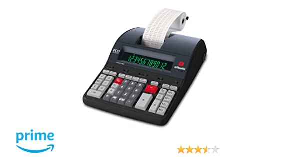 Olivetti LOGOS 902 - Calculadora sobremesa impresión con 12 dígitos y pantalla LCD: Olivetti: Amazon.es: Oficina y papelería