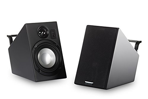 Vanatoo Transparent Zero Powered Speakers (Black, Set of ()