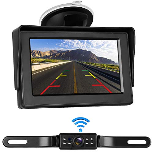 LeeKooLuu Digital Wireless Backup Camera&Monitor Kit for RV/