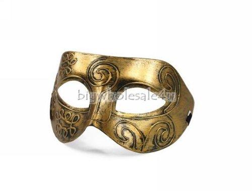 Mens Adult Masquerade Greek Roman Facial Mask for Fancy ...