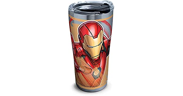 Amazon.com: Tervis 1319358 Marvel - Vaso de viaje con tapa ...