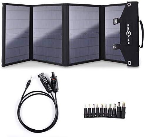Amazon.com: Rockpals - Cargador de panel solar plegable para ...