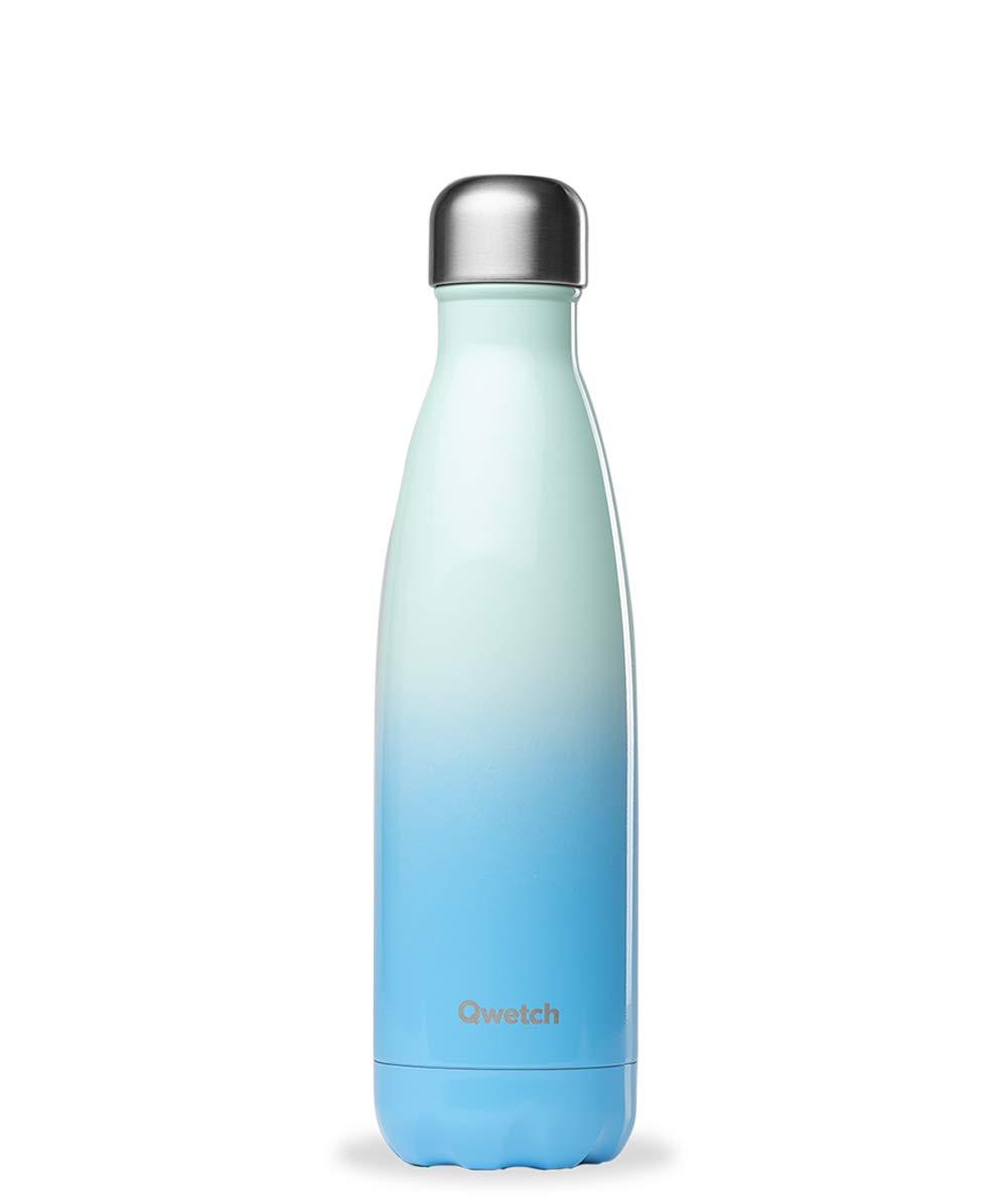 BPA Free -/Collection Sky Bouteille Isotherme INOX 500ml Maintient Vos Boissons au Chaud Pendant 12 Heures /& au Frais Pendant 24 Heures QWETCH