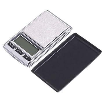 Báscula de bolsillo - TOOGOO (R) 4 pcs 100 G x 0.01 g/500 G x 0, 1 G Mini Digital joyería bolsillo Básculas: Amazon.es