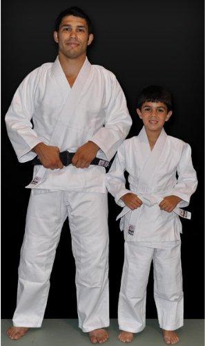 (5- Lg) ad Lg) (5- - Fuji White Judo Uniform, White B00DJAIBP4, サンポクマチ:fe2b9f6c --- capela.dominiotemporario.com